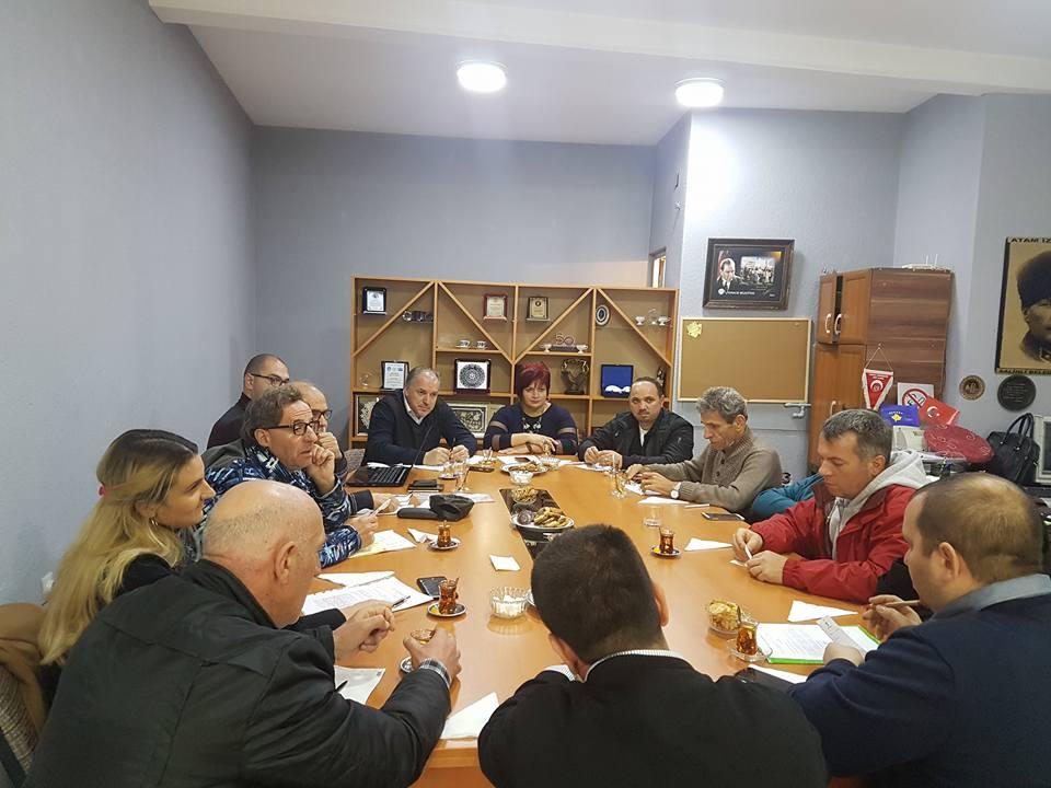 Photo of Kosova Türk Dernekleri Federasyonu kuruluş çalışmaları devam ediyor
